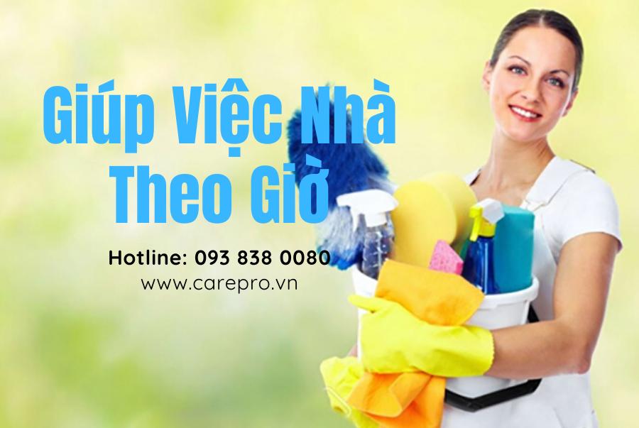 Dịch vụ giúp việc nhà theo giờ giá rẻ tại TP HCM