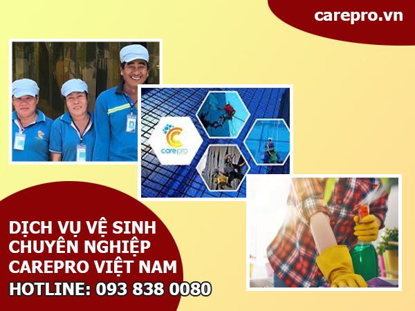 Dịch vụ vệ sinh nhà ở chuyên nghiệp Carepro Việt Nam