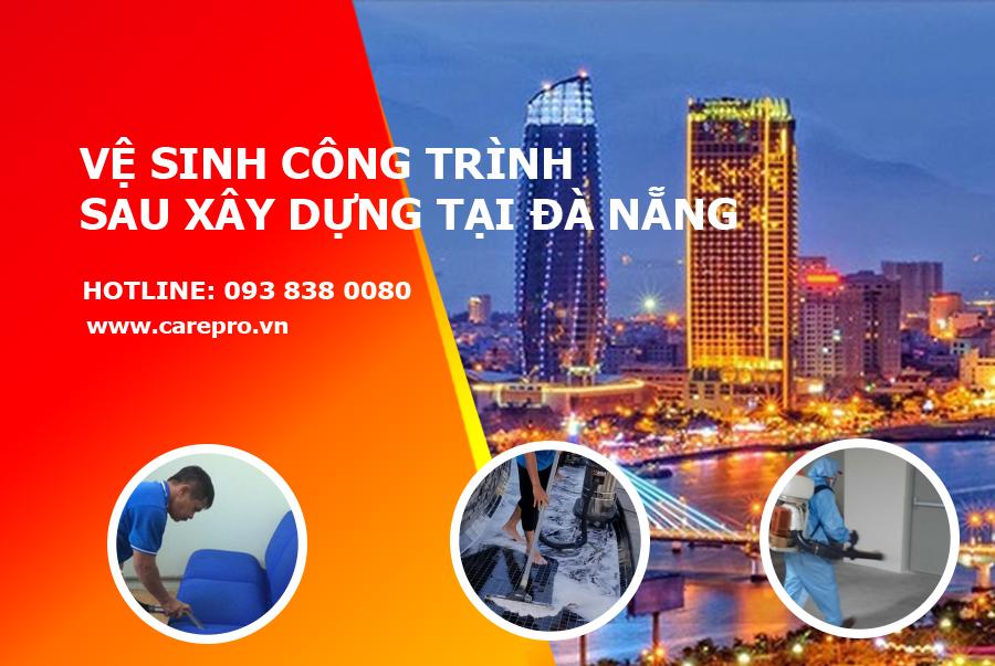 Vệ sinh công trình tại Đà Nẵng nở rộ trong những năm qua